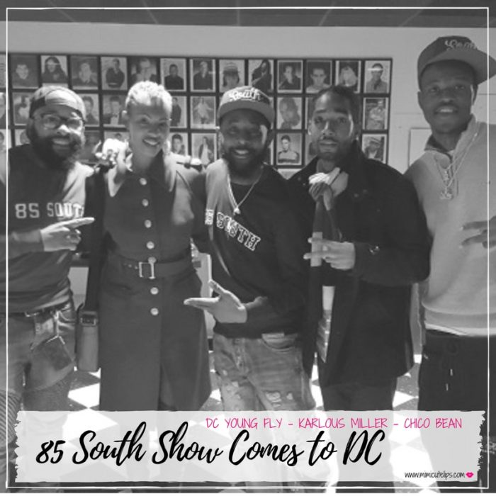 Lifestyle Media Correspondent recaps the 85 South Show at the DC Improv. Show includes comedians DC Young Fly, Karlous Miller and Chico Bean of the Wildin' Out improv show. #85SouthShow