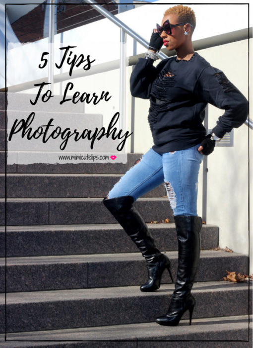 Lifestyle Media Correspondent MimiCuteLips got a new camera and is ready to learn to use it. Her goal for 2018 is to learn photography. She shares options on how to learn photography