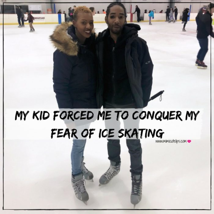 Lifestyle Media Correspondent MimiCuteLips shares her experience of conquering the fear of ice skating after LittleCuteLips asks to go ice skating for her birthday.
