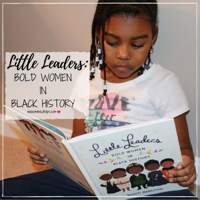 Lifestyle Media Correspondent MimiCuteLips shares the Little Leaders Bold Women In Black History book by Vashti Harrison while discussing Oprah's Golden Globe speech on why speaking your truth is the most powerful tool we have. This book has 40 stories of black women in history.