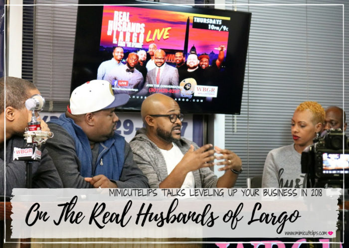 Lifestyle Media Correspondent MimiCuteLips is a guest on the Real Husbands of Largo Show. She is sharing tips, tools, and tricks for getting ahead in your business/dream/hustle without having a budget.