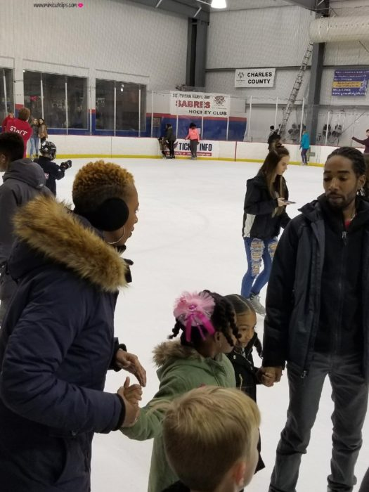 conquering the fear of ice skating