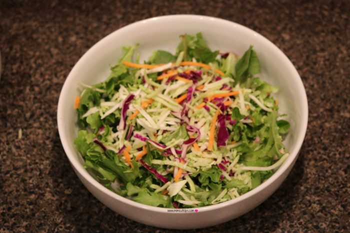easy house salad
