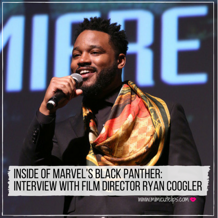 Lifestyle Media Correspondent MimiCuteLips shares her Ryan Coogler Black Panther interview. Ryan Coogler is the Director of Black Panther, Creed & Fruitvale Station. No spoilers. #BlackPanther #BlackPantherEvent #BlackPantherSoLit #WhatBlackPantherMeansToMe