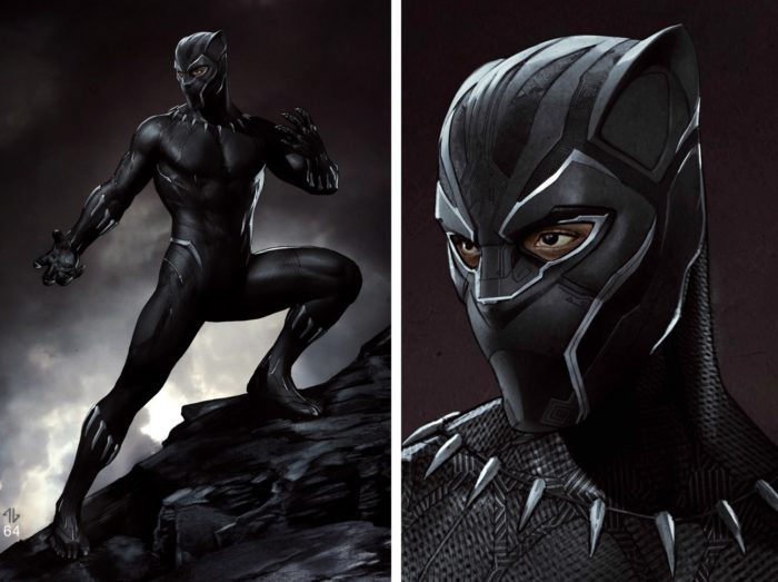 black panther costume designs