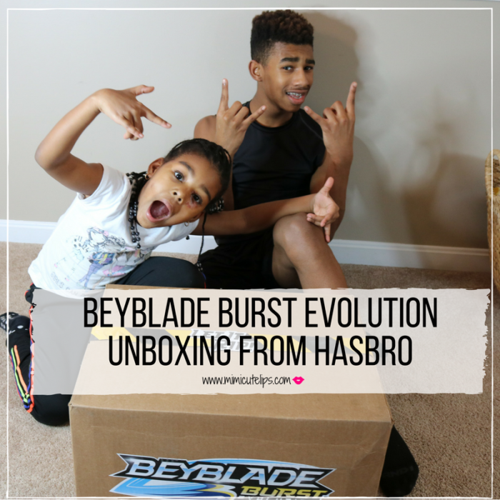 Lifestyle Media Correspondent MimiCuteLips shares a fun Hasbro Beyblade Burst Evolution unboxing experience. Unboxing includes Beyblade Burst Evolution Switchstrike Starter, Beyblade Burst Evolution Dual Threat Launcher, Beyblade Burst Epic Rivals Battle Set, and more. Beyblade Burst Single Top Packs Valtryek