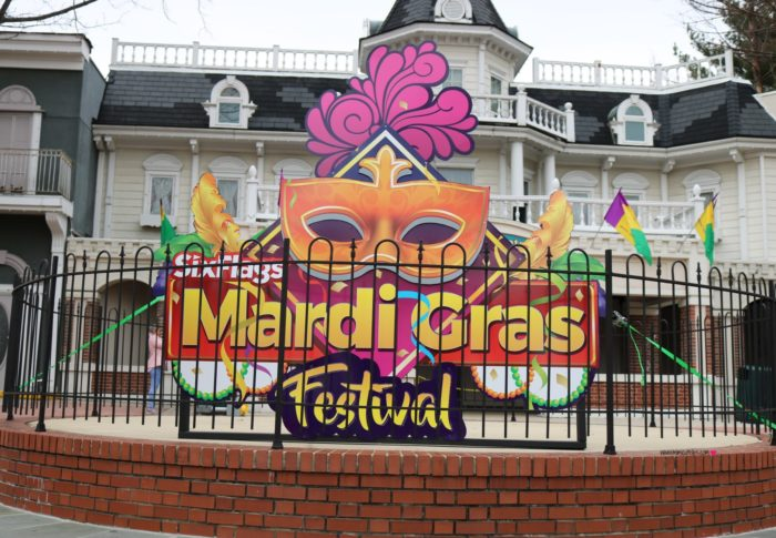 Six Flags Mardi Gras Festival