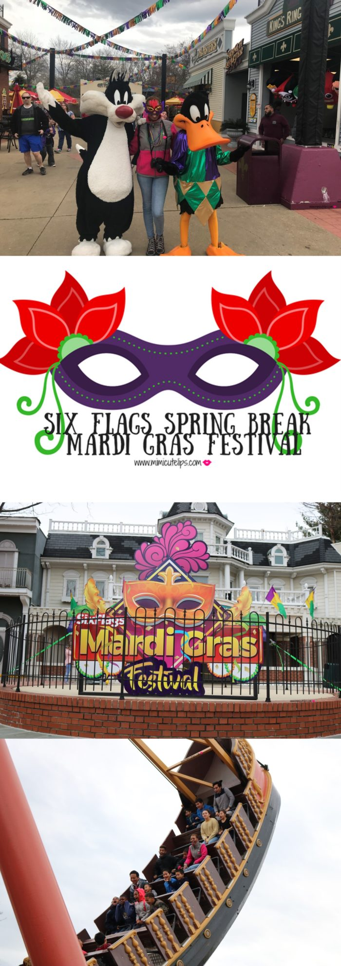 Six Flags Mardi Gras Festival is in full spring March 30 - April 8th. Lifestyle Media Correspondent MimiCuteLips and her family went out for a day of fun. Six Flags is celebrating their 20 year anniversary. #SixFlags #SixFlagsAmerica #MardiGrasFestival #SixFlagsMardiGras
