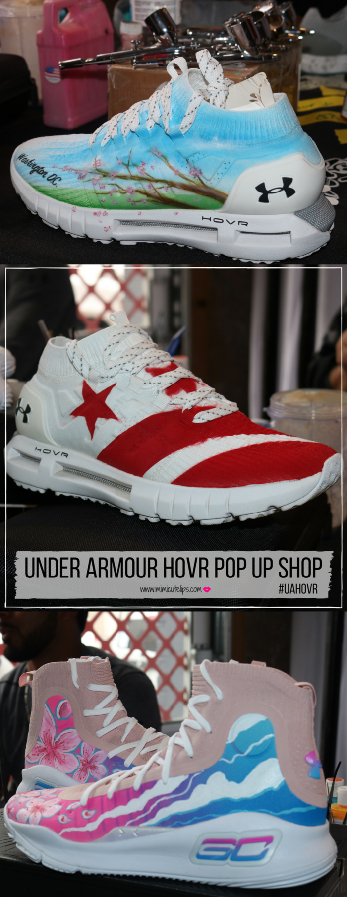 Under Armour HOVR came to DC for a Pop Up Shop experience at the Longview Gallery. Lifestyle Media Correspondent MimiCuteLips is giving a full recap and sharing how she scored three pairs of FREE #UAHOVR sneakers at this event.
