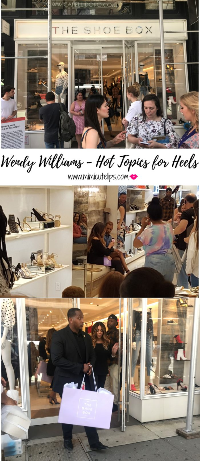 Lifestyle Media Correspondent MimiCuteLips recaps her experience on the Wendy Williams Show Hot Topics segment titled Hot Topics for Heels. The episode aired today 5/25/2018, it was so much fun. Tune in to see if I answered correctly.
