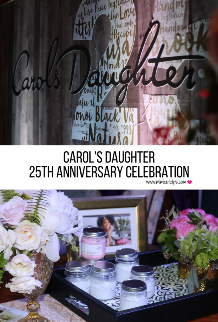 Carol's Daughter celebrates her 25th Anniversary at the National Museum of African American History and Culture (NMAAHC). Carol's Daughter 25th Anniversary.