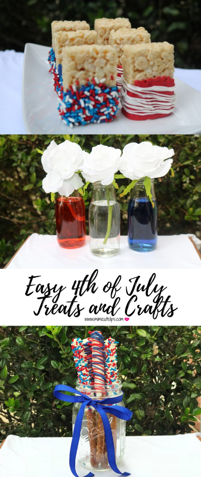 Lifestyle Media Correspondent MimiCuteLips shares easy DIY 4th of July Treats and Decor on WJLA Good Morning Washington on ABC 7 and news Channel 8.