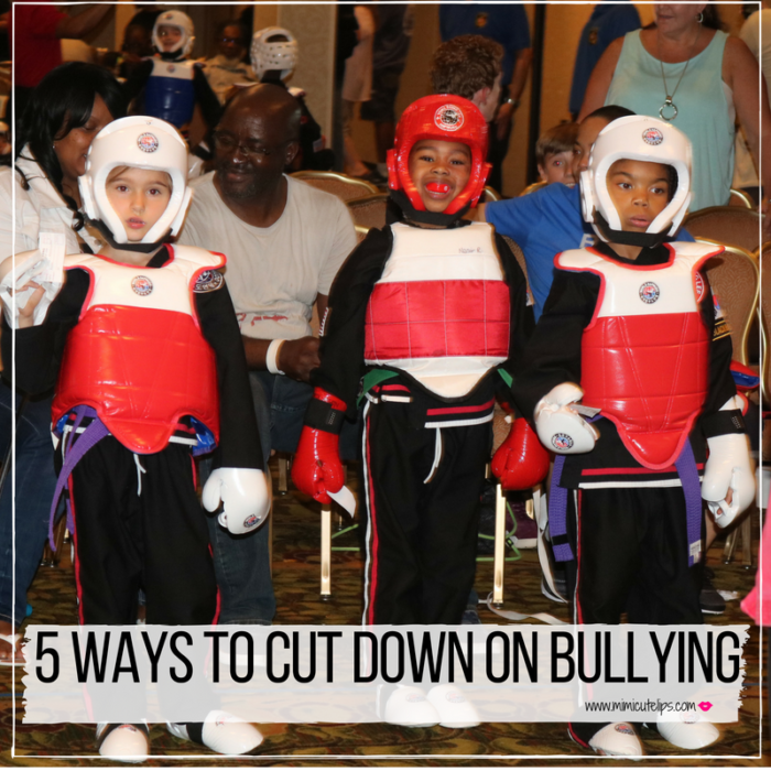 Lifestyle Media Correspondent MimiCuteLips shares why martial arts for kids. She offers 5 tips that will help cut down on bullying.