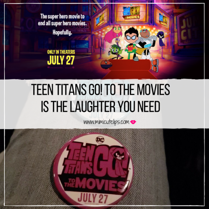 We saw it, but won't spoil it. Teen Titans Go to the Movies was filled with laughter. It is a family must see. #TeenTitansGOMovie is in theaters July 27th.