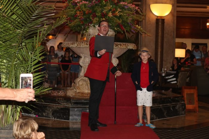 The Peabody Ducks Memphis TN
