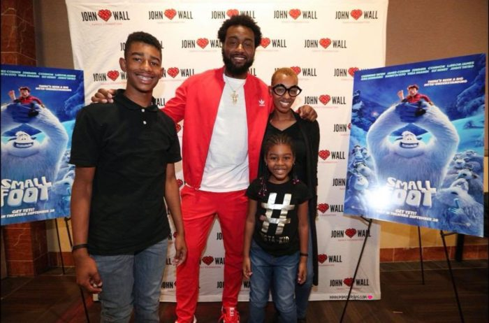 john wall smallfoot screening