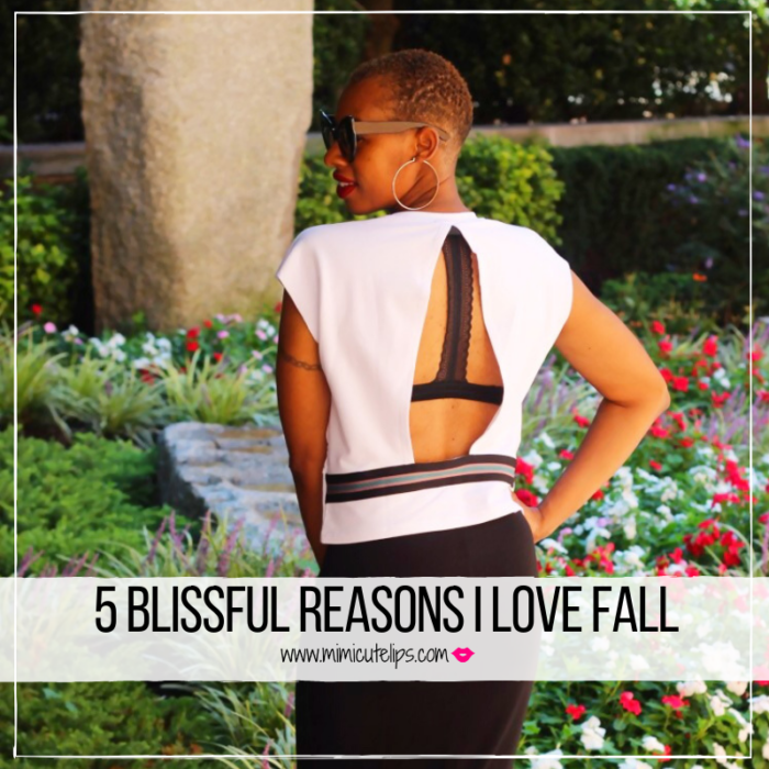 Lifestyle Media Correspondent MimiCuteLips shares five blissful reasons fall is dope. So long summer, hello fall. Featuring Koral Active Streetwear. #Koral