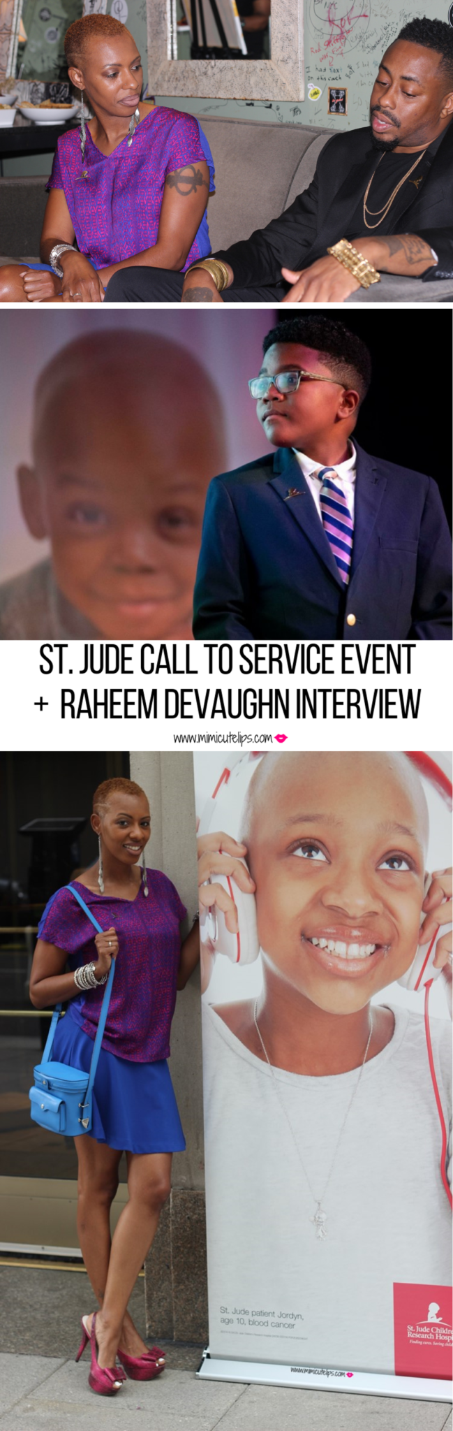 Lifestyle Media Correspondent recaps the St. Jude Call to Service event. The recap includes an interview with Raheem Devaughn. #StJude