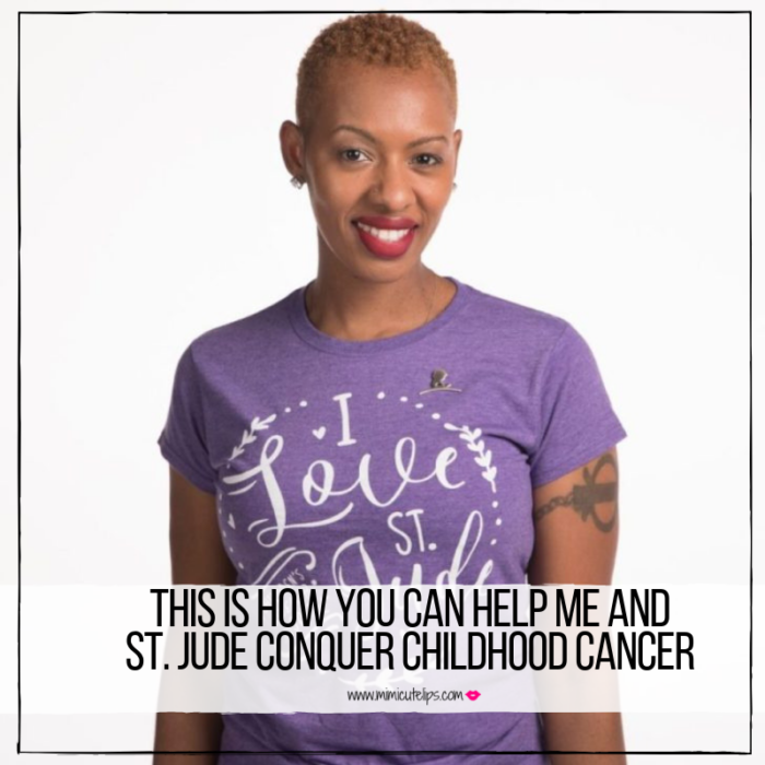 St. Jude Childhood Cancer Awareness Month Digital Ambassador Mimi shares her goal for St. Jude. Join her 9/8/18 for the DC Run Walk to end Childhood Cancer.