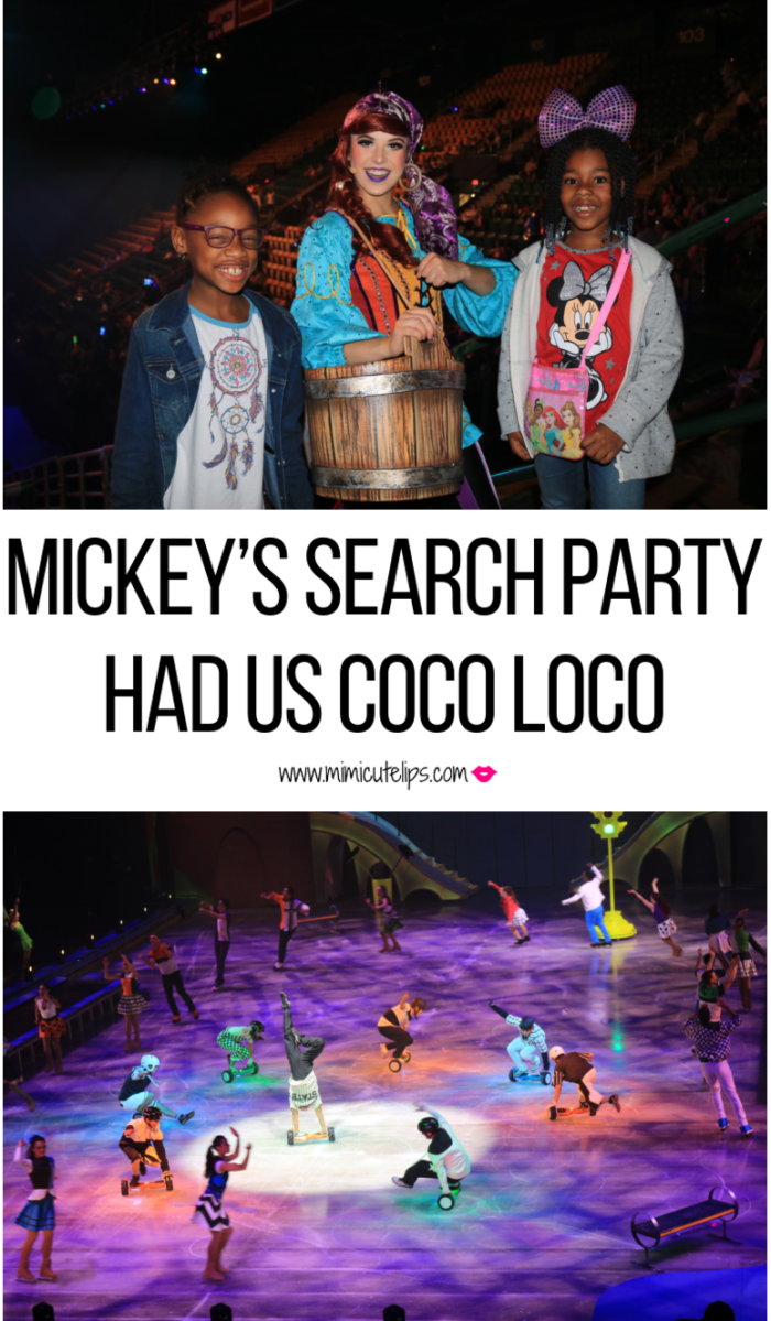 Disney on ICE Mickey's Search Party, Eagle Bank Arena in Fairfax, VA. Lifestyle Media Correspondent MimiCuteLips recaps the opening night. #DisneyonIce