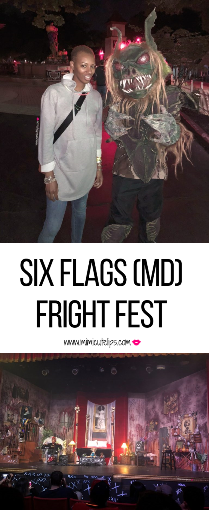 Lifestyle Media Correspondent MimiCuteLips gives a preview of the Six Flags Fright Fest during their media preview night. #SFA #FrightFest #SixFlags