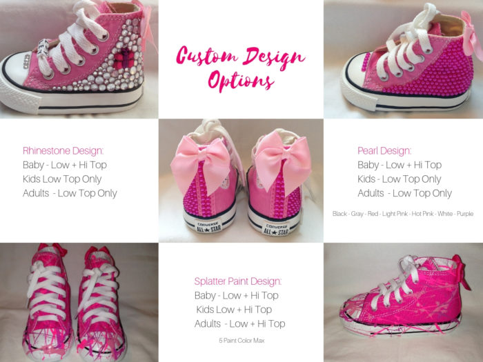 Custom Kicks by Mimi - Custom Converse