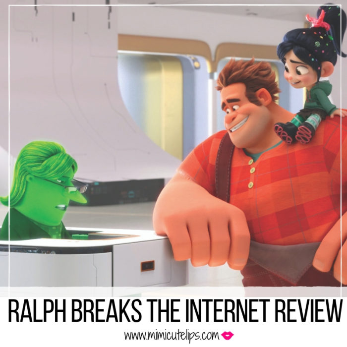 Lifestyle Media Correspondent MimiCuteLips gives her family review of Ralph Breaks the Internet screening. #WreckItRalph2 #RalphBreaksTheInternet