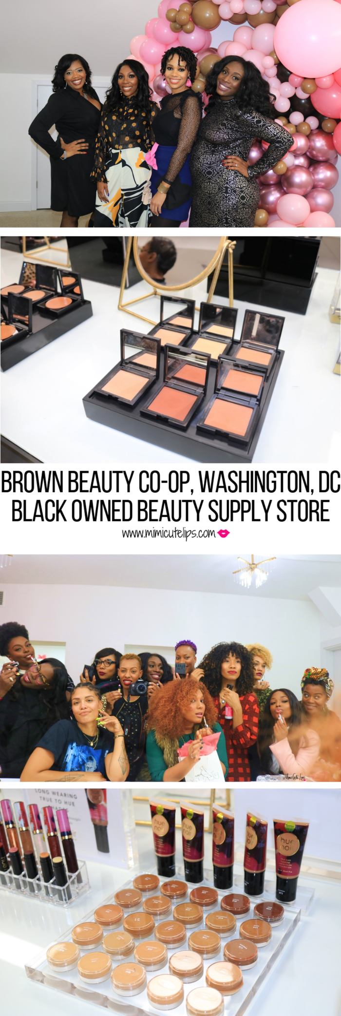 LIfestyle Media Shares the Brown Beauty Co-op soft opening in Dupont Circle, DC, owned by Kimberly Smith + Amaya Smith. #BrownBeautyCoop #BrownBeautyPreview