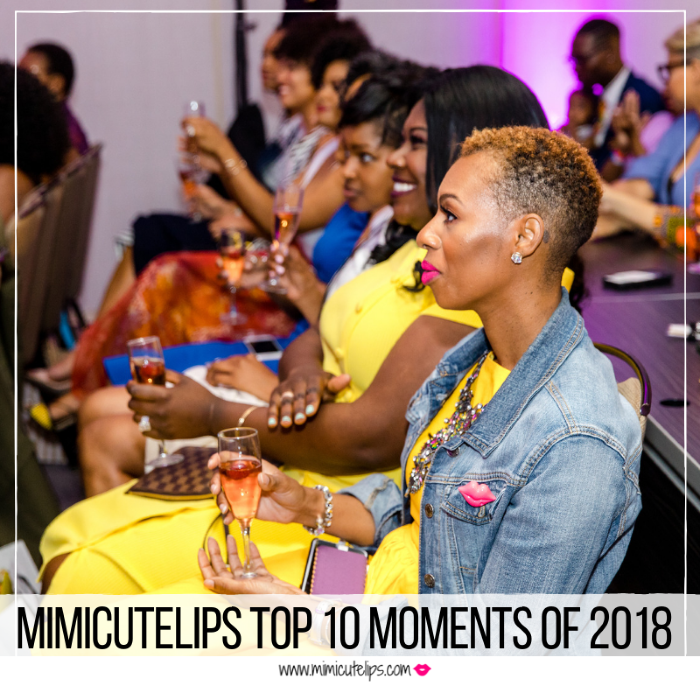 Lifestyle Media Correspondent MimiCuteLips shares her Top 10 moments of 2018 on MimiCuteLips.com. Thanks for being a part of my incredible year. #Peace2018