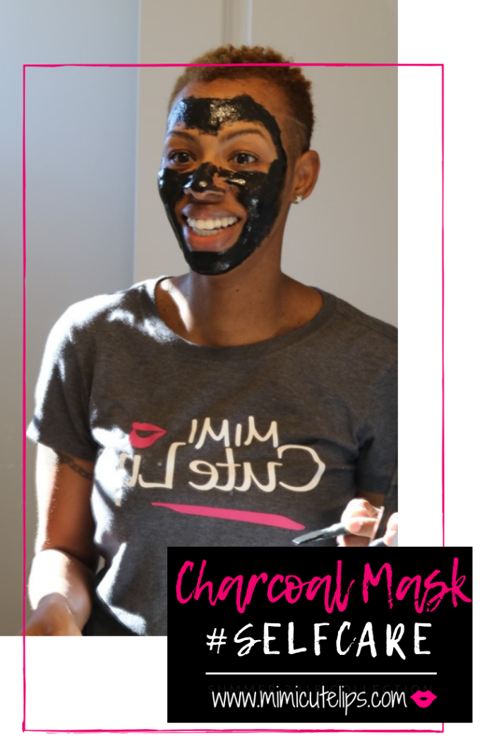 Lifestyle Media Correspondent is sharing her experience in the name of Face Mask Self-Care. This is a charcoal peel off mask. #FaceMaskFriday