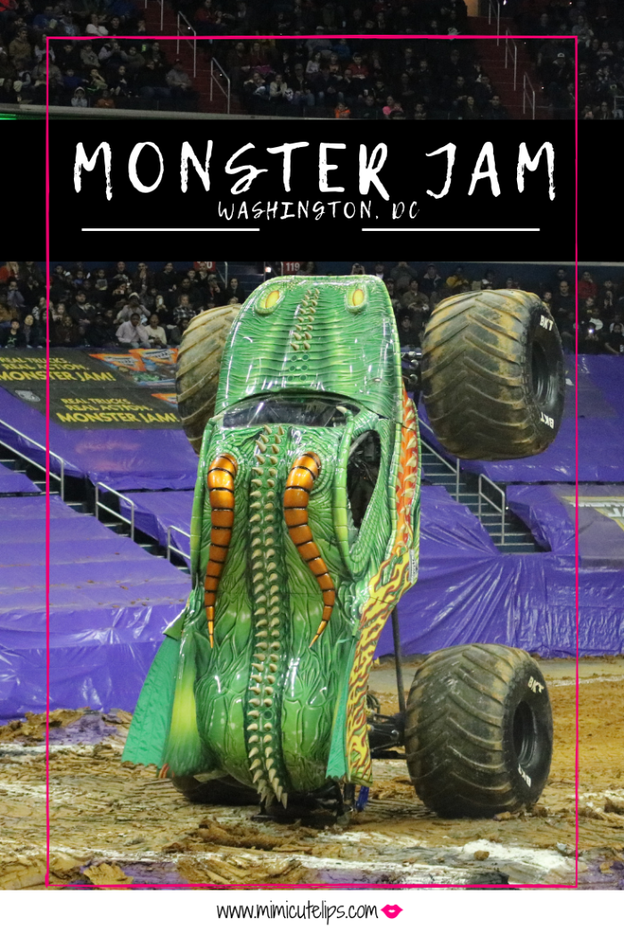 Lifestyle Media Correspondent MimiCuteLips recaps a Monster Jam Washington, DC show experience. She received comp tickets to attend. #MonsterJam
