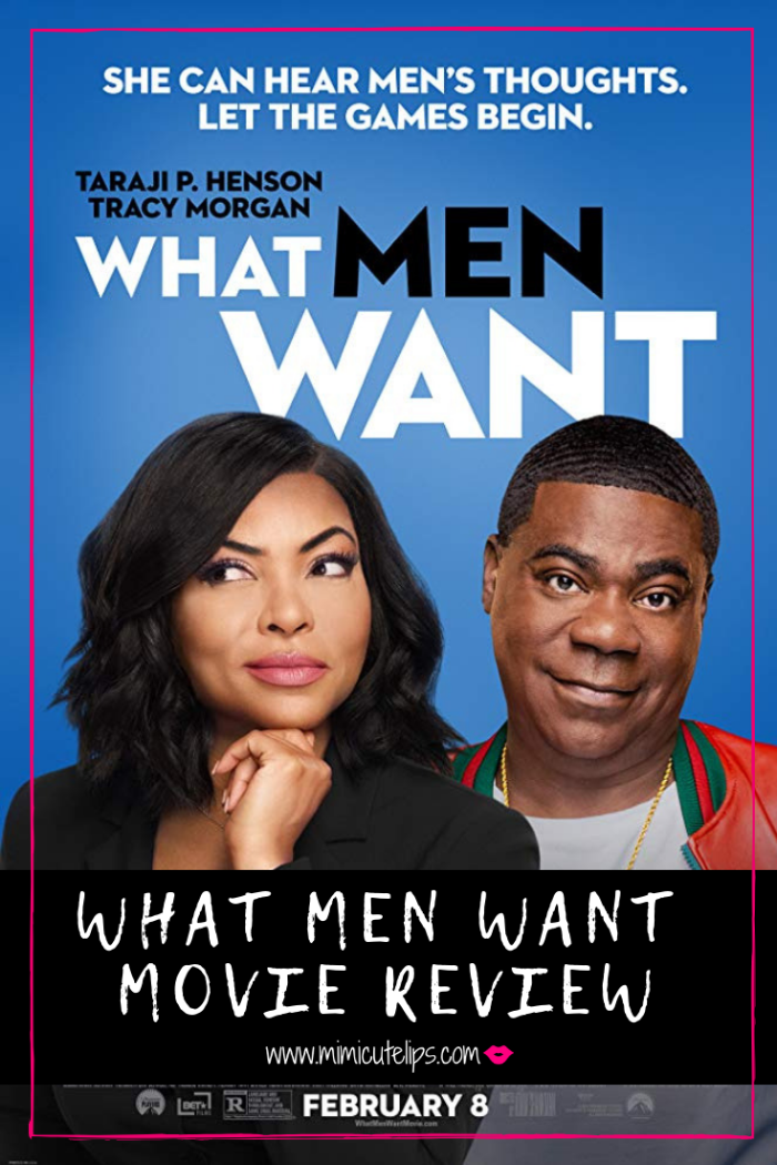 Lifestyle Media Correspondent MimiCuteLips reviews Taraji P. Henson What Men Want. This film is a must see, and not just for girls. #WhatMenWant