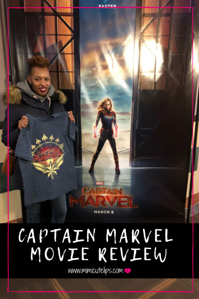 Lifestle Media Correspondent MimiCuteLips + her teen son give a Captain Marvel review. The movie is in theaters today, it is a must see. #CaptainMarvel