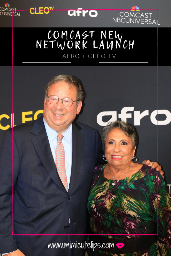 Comcast launch party for AFROtainment and CLEO TV Networks on Xfinity. These networks are geared to black millennial women and black Gen X women. #AFROTV #MyCLEOTV
