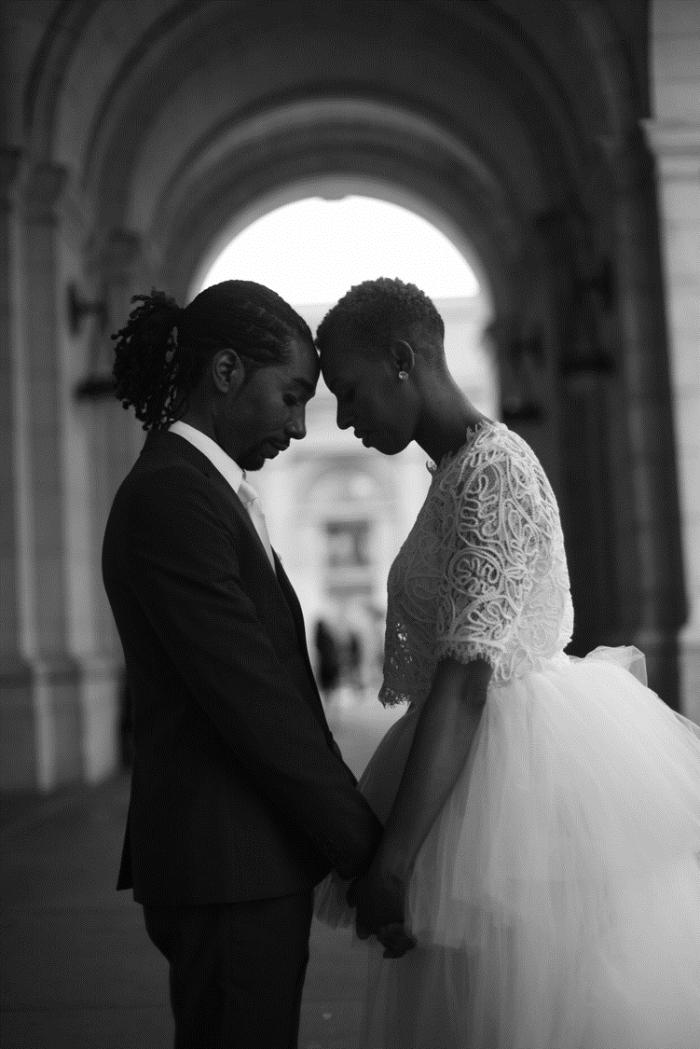 mimicutelips surprise courthouse wedding