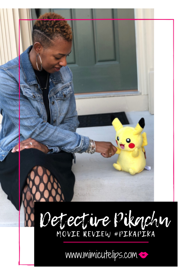 Mimi Robinson gives you a full Pokemon Detective Pikachu Review. There are no spoilers but includes what you can expect from the movie. #DetectivePikachu #PikaPika