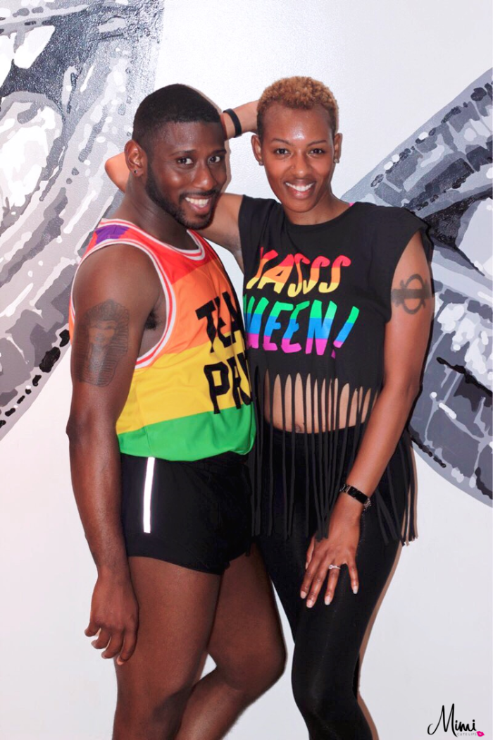 305 Fitness Instructor Marcus Isaiah DC Pride Event