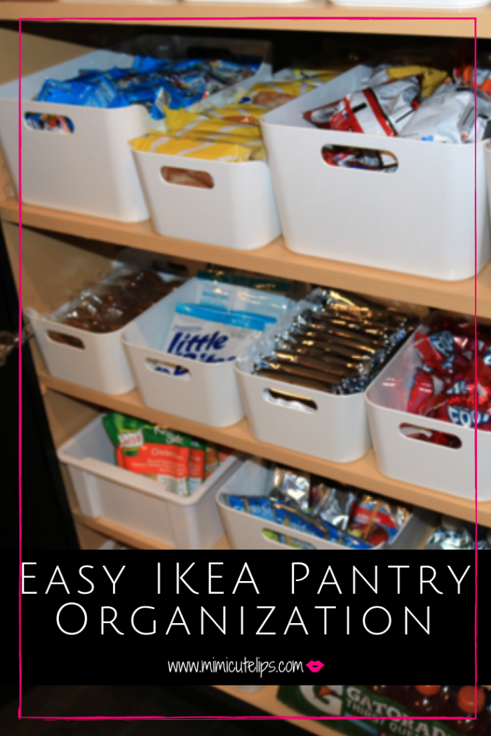 DIY Craft Queen Mimi Robinson shares tips for getting your pantry organization in order. Containers are an essential part of the process. We used IKEA