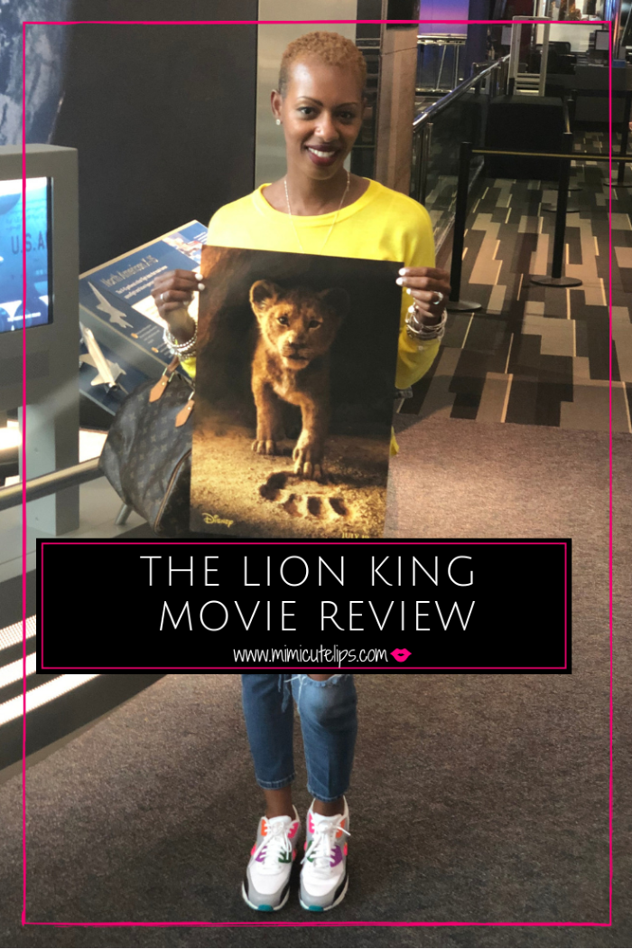 The Lion King Live Action movie is one of the most visually stunning movies you will see this year. The Lion King review is spoiler free. #TheLionKing