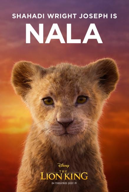 The Lion King young nala Shahadi Wright Joseph