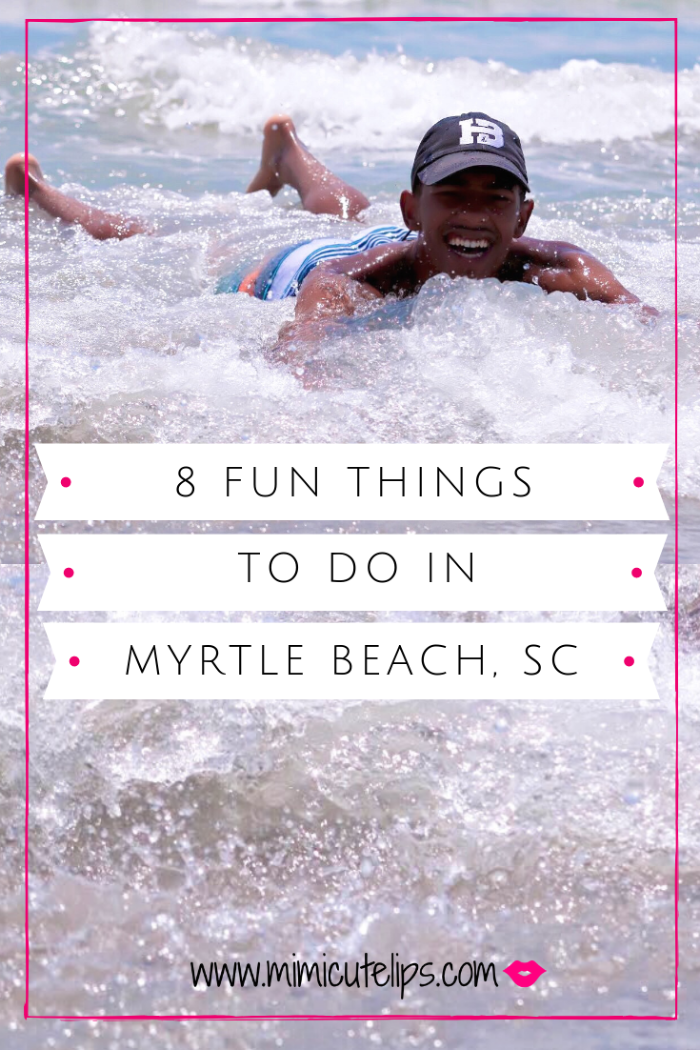 Mimi Robinson shares the myrtle beach fun and things to do while visiting. Includes the beach, Broadway at the Beach, Pier 14, TIGERS Preservation and more.