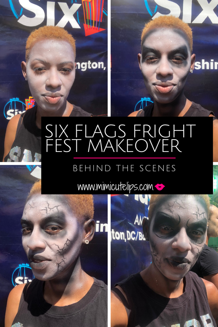 Want to know what the Six Flags Fright Fest Transformation is like? See what it takes to be made over into a ghoul. #FrightFest