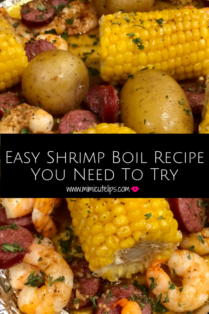 This is the easiest shrimp boil ever, short on time but big on deliciousness. Toss it in the oven on a sheet pan and enjoy the magic in your mouth.