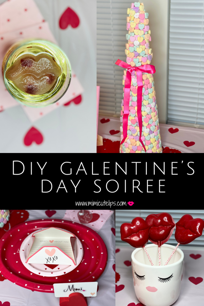 Everything you need for a DIY Galentine's Day soiree with your gal pals. See how I pulled mine together. I shopped JoAnns for the decor. #GalentinesDay