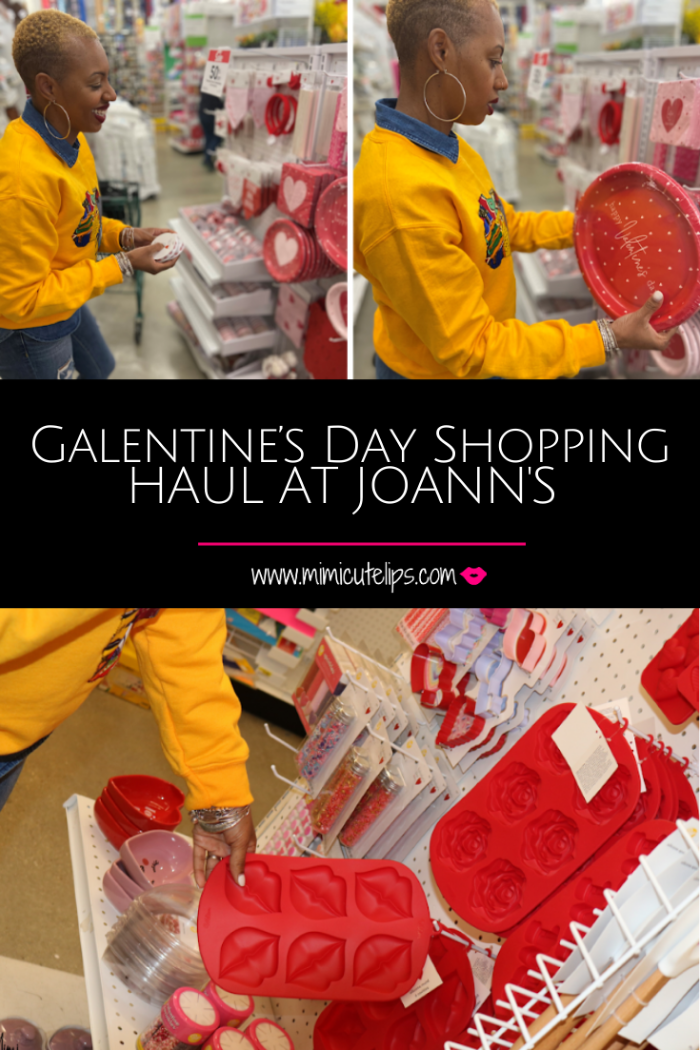 Go with me as I shop for my Galentine's Day news segment at JoAnn's. Great discounts, a variety of options, and festive. joann galentines day haul