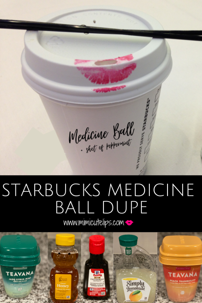 If you love Starbucks Honey Citrus Mint Tea alo known as the Medicine Ball then you will love my Starbucks Medicine Ball Dupe. Six easy ingredients.