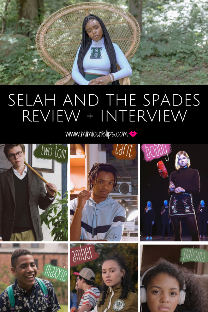 I chatted with Celeste O'Connor of Selah and The Spades, a new movie on Amazon Prime Video April 17th. #JoinTheSpades and figure out where you fit in.